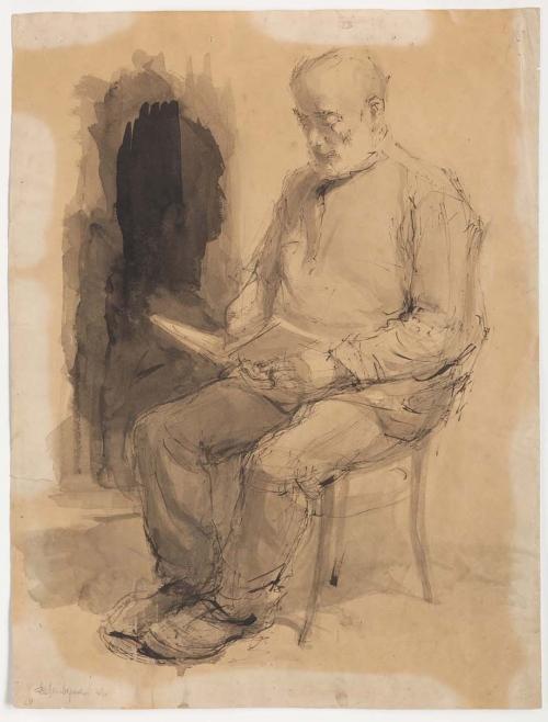 Father, Berdichev, Ukraine, 1936-1938