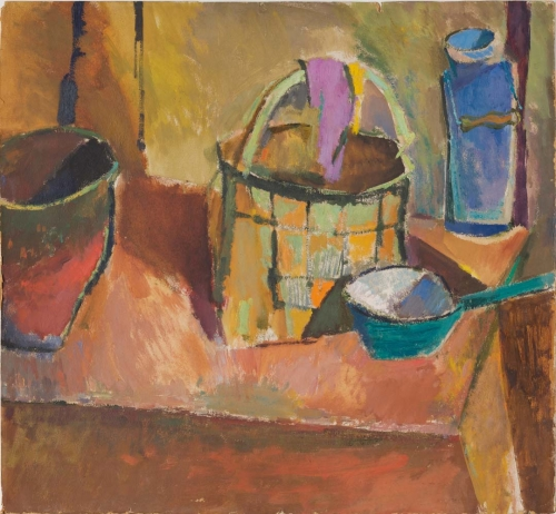 Still Life with a Basket, Leningrad, 1958–62