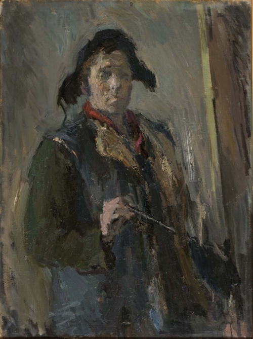 Self-Portrait, Leningrad, 1945