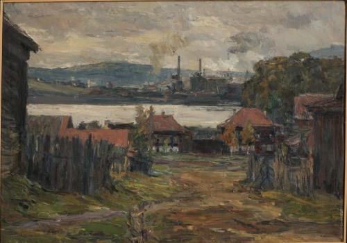 Landscape, Nizhny Tagil, 1942