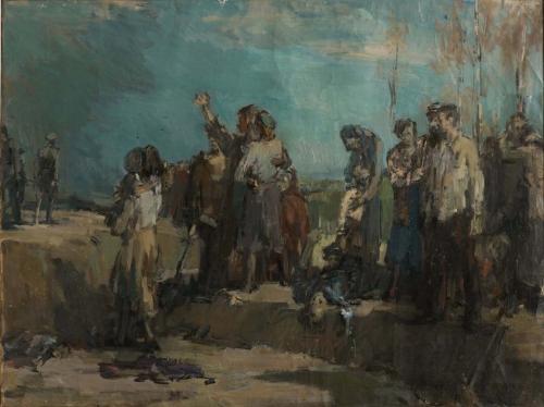 Execution. Babi Yar. Leningrad, 1952
