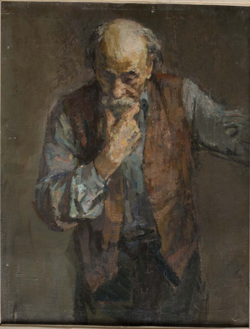 Portrait of an Old Man, 1952–54