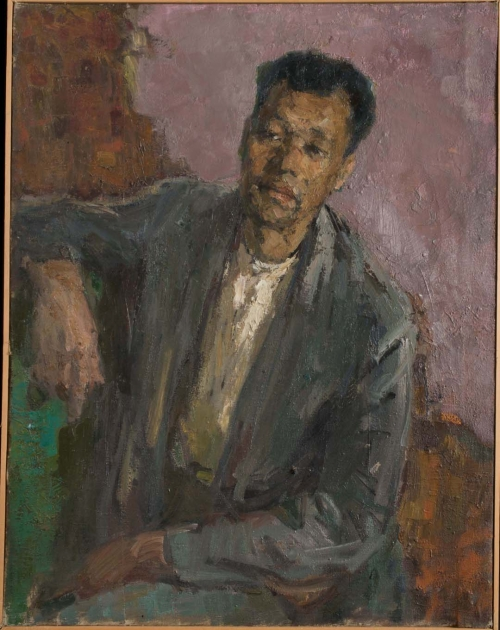Portrait of the Miner Sharafeev, Urals, 1958