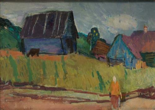 Dusk: Matryona's House, Staraya Ladoga, 1960–63