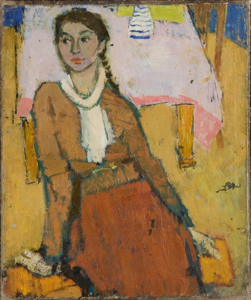 Portrait of the Artist's Daughter, Leningrad, 1961
