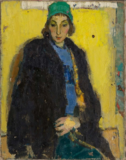 Portrait of the Artist's Wife, Leningrad, 1959–60