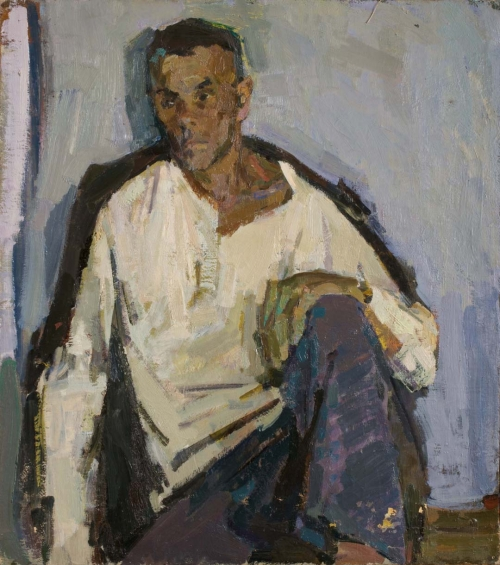 Man in a White Shirt, Nizhny Tagil, 1958