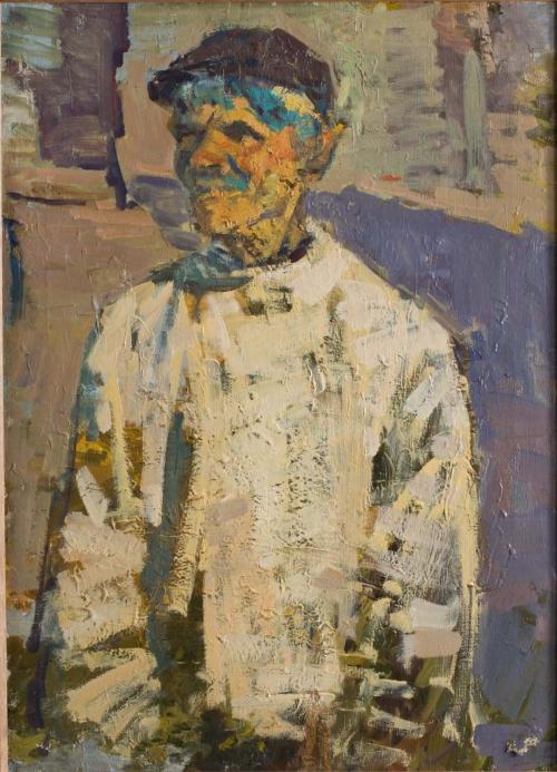Portrait Study, Urals, 1958