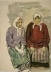 Two Old Women,  ca. 1956