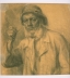 Worker with a Pipe. Nizhny Tagil, 1942–44