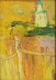 Midday: Crucifixion: Church with Yellow Background, 1964